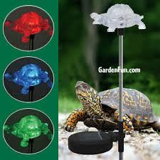 Solar Lights Garden Solar Turtle Light Garden Stake Only 16 95 At Garden Fun