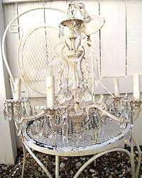 How To Shabby Chic Paint best 25 painted chandelier ideas on pinterest brass chandelier