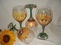 painted wine glasses how to decorate wine glasses design ideas