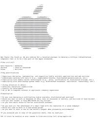Resume To Work Hidden Apple Job Listing Requires Serious Computer Skills To Find