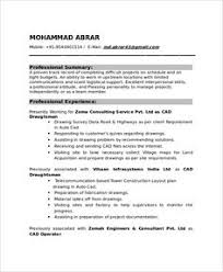 Mechanical Resume Format Pdf Sample Template Of A Experienced Mechanical Engineer With Great