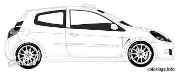 coloriage dessin voiture tuning imprimer jecolorie com