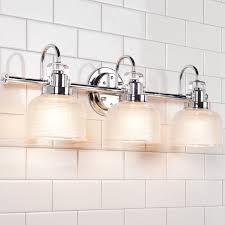 Bathroom Lighting Fixture by Fresnel Glass Restoration Bath Light 3 Light Shades Of Light