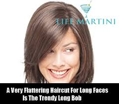 hair cut back shorter than front how to choose the right hairstyle for long face diy life martini