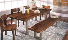 84 inch dining table 84 inch live edge acacia and steel dining table the dump luxe