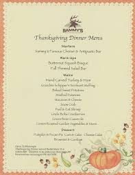thanksgiving dinner menu sammy s rocky mountain steakhouse