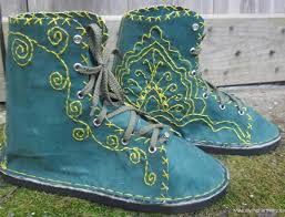 womens boots burning womens boots sale handmade vfriendly boots green yellow