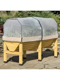 Zippered Patio Table Covers by Vegtrug Patio Garden Covers Frost Shade U0026 Insect Covers