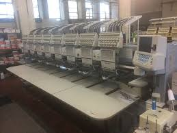online auction commercial embroidery machines sewing machines