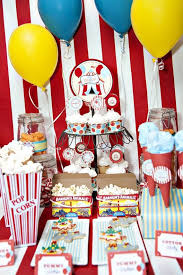 Circus Birthday Decorations 98 Best Circus Birthday Party Ideas Images On Pinterest Birthday