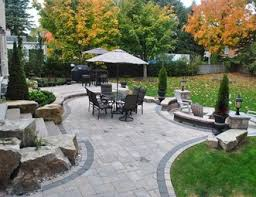 Paver Patio Pictures Gallery Landscaping Network - Backyard stone patio designs