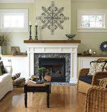 decor decorating over fireplace