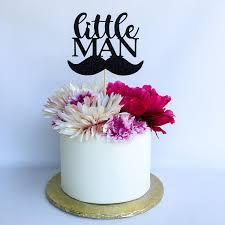 little man cake topper mustache cake topper little man