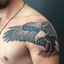 Rebel Flag Eagle Tattoo 45 Inspiring Eagle Tattoo Designs And Meaning Spread Your Wings