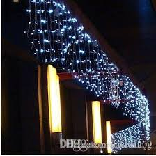 100 led curtains icicle lights christmas windown party deco