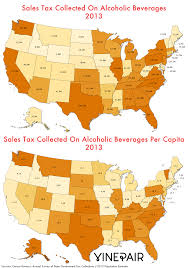 Nyc Tax Maps Map Which States Collected The Most Sales Tax On Alcohol In 2013