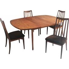 G Plan Dining Chair Mid Century Original G Plan Extendable Table With 4 Dining Chairs
