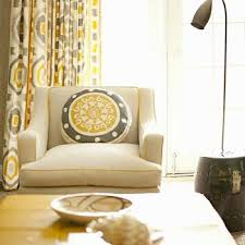 Curtains For Yellow Living Room Decor Yellow Curtains Design Ideas