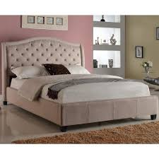Unique Bed Frames Bedroom Brilliant Awesome Tufted Headboard And Bed Frame