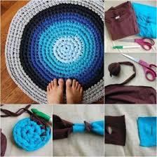 Crochet Tshirt Rug Pattern Crochet Tshirt Rug Pattern Youtube Video Easy Tutorial
