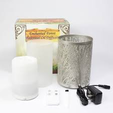 Amazon Oil Diffuser by Amazon Com Enchanted Forest Essential Oil Diffuser Ultrasonic