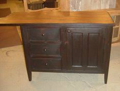 primitive kitchen islands black island with butcher block top kitchen
