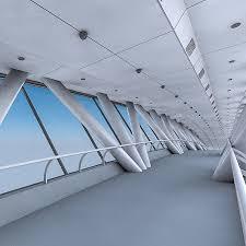 kingdom centre kingdom centre skybridge interior 3d model in buildings 3dexport