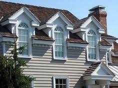 Decorative Dormers Dormers On 1 1 2 Story Cape Cod Flat Roof Garage Google Search