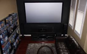 black diamond home theater screen the holodeck