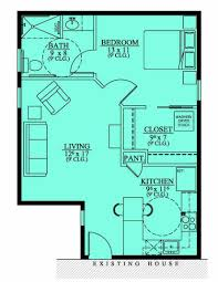 floor plan no exterior available approx 600 sq ft granny