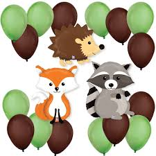 woodland creatures baby shower woodland creatures baby shower balloon kit bigdotofhappiness
