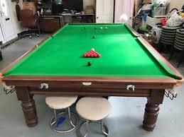 Full Size Snooker Table Slate Bed 12ft X 6ft Ebay