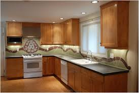 kitchen backsplash with art behind sink preferred home design