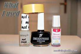 how to do a matte manicure with shiny tips do you speak gossip