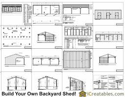 backyard horse barns 3 stall horse barn plans with lean to icreatables sheds
