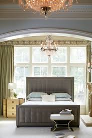 jet set upholstered panel bedroom set in caviar