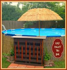 backyard ideas with pool and bar backyard fence ideas