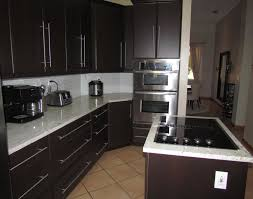 refaced modern kitchen cabinets in expresso thermofoil yelp photo of visions miami fl united states refaced modern kitchen cabinets in