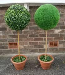 artificial green topiary tree dunelm topiaries