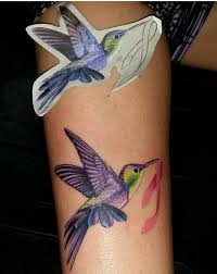 Flower And Bird Tattoo - 25 stunning watercolor hummingbird tattoo meaning and designs
