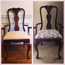 reupholstered dining chair for the home pinterest room