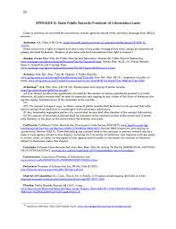 appendix b state public records freedom of information laws