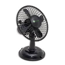 desk fan usb powered with on off switch black color