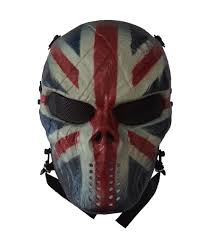 m06 uk flag tactical masks emirates outdoor airsoft tactical skull