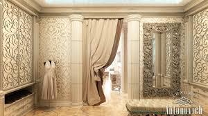 Curtains For Dressing Room Beautiful Dressing Room Design In Dubai By Luxury Antonovich Design