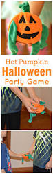 pumpkin halloween party game the resourceful mama