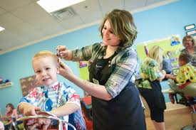kids haircut salon
