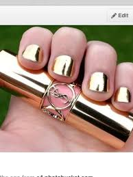 nail polish nails mirror cool silver gold wheretoget