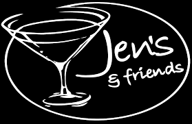 martini glass logo jen u0027s and friends home of 300 martinis savannah ga