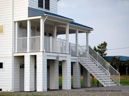 stilts plan shop elevated plans small home small beach home plans